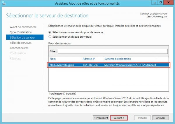 WSUS-SCCM-selection-server
