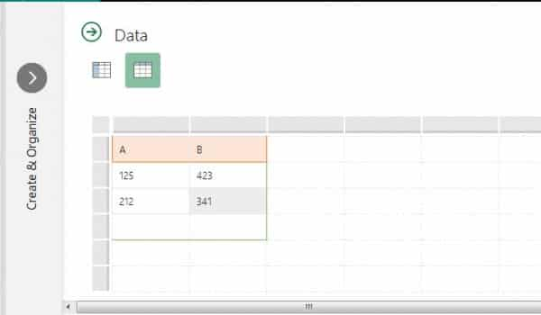 graph données