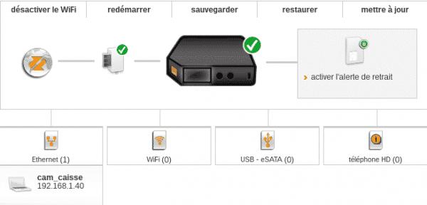 Livebox v3 Pro accueil