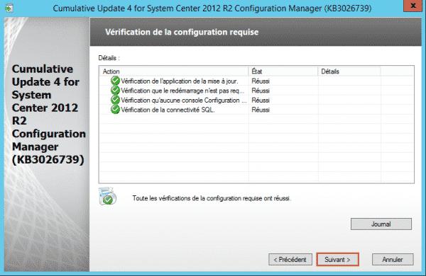 SCCM-Update-CU4-cfg-requise