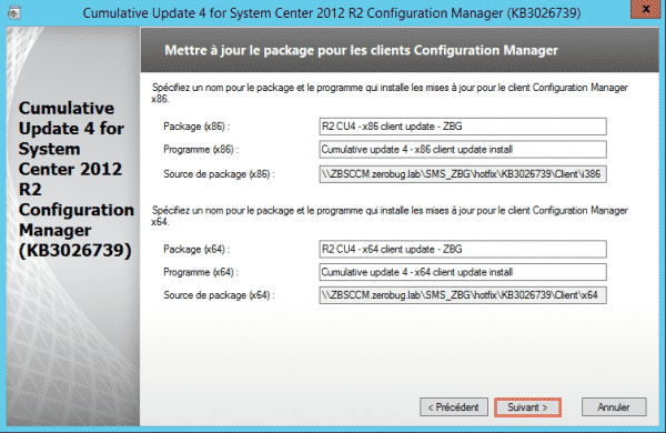 SCCM-Update-CU4-package-clients