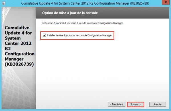 SCCM-Update-CU4-update-console