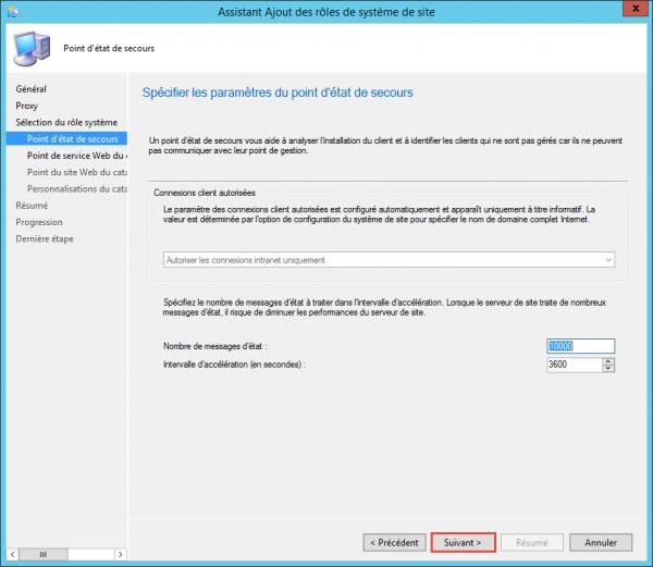 cm catalogue d'applications 2012 ne peut pas installer