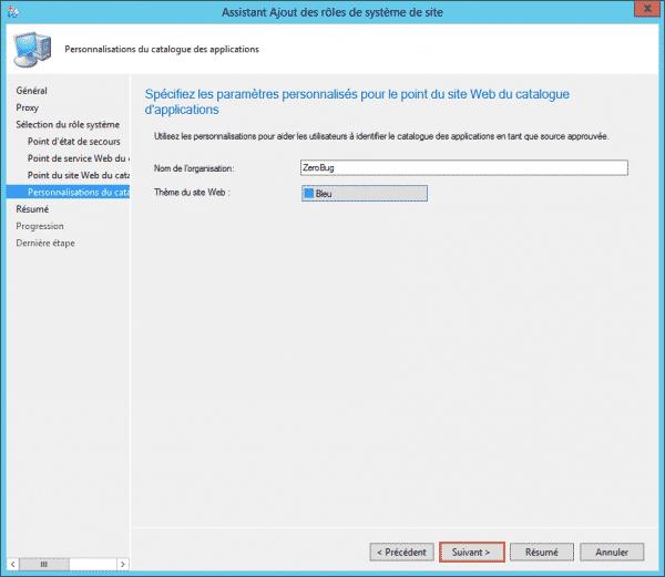 déployer l'installation du serveur de l'application web tomcat