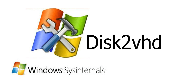 Photo of SysInternals : Disk2vhd