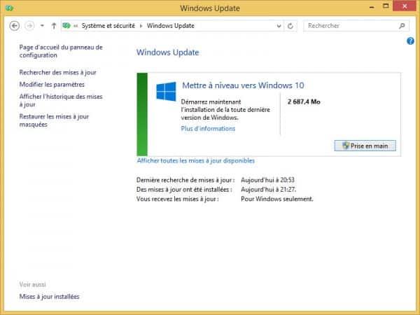 Windows-update-Upgrade-Win10