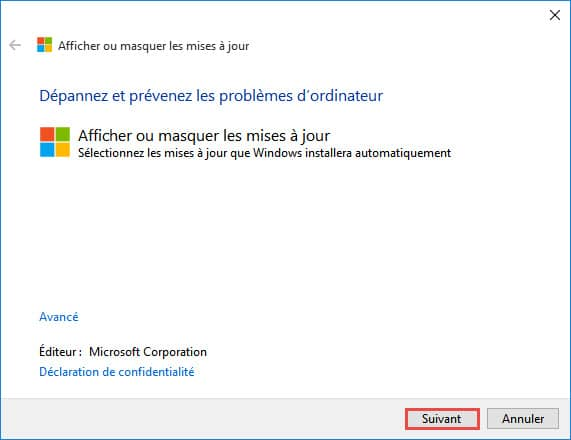 windows-10-Afficher-masquer-update