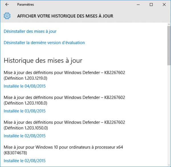 windows-10-historique-update