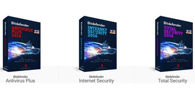 Bitdefender-2016-versions