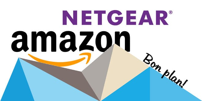promo netgear chez amazon tech2tech. Black Bedroom Furniture Sets. Home Design Ideas
