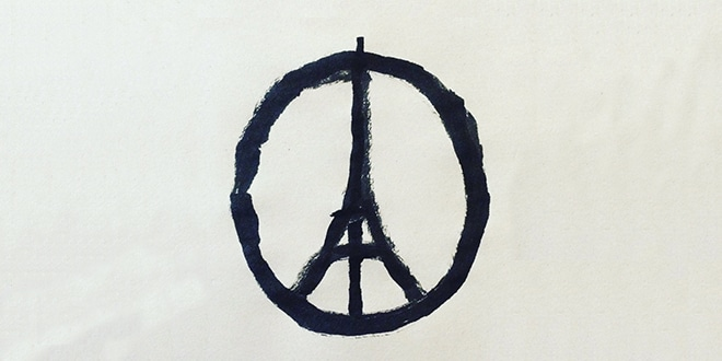 Photo of #PrayForParis