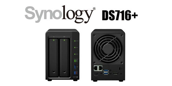 Photo of Serveur NAS Synology DiskStation DS716+ disponible