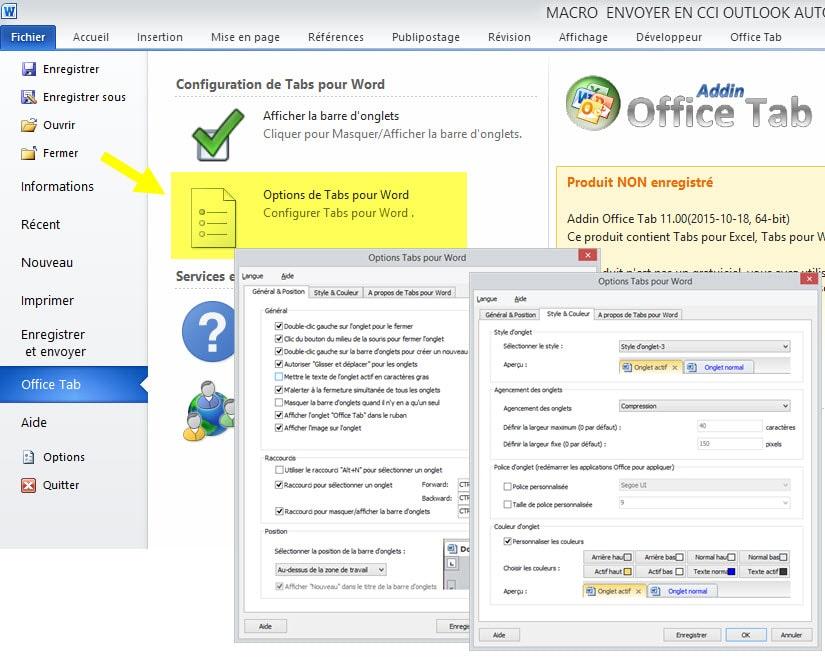 Office tab ouvrir plusieurs fichiers dans les onglets d for Ouvrir plusieurs fenetre excel