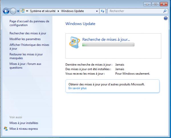 windows-7-windows-update-ne-trouve-pas-de-mises-à-jour