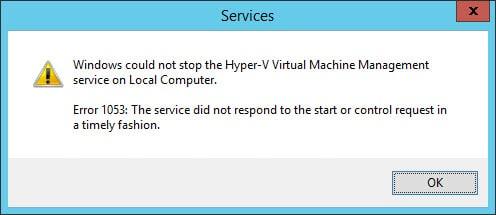 Service-Hyper-V-VMM
