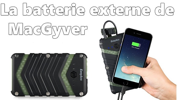 Photo of [Test/Review] La Batterie Externe de MacGiver : EasyAcc Monster 20000 mAh Antichocs & WaterProof