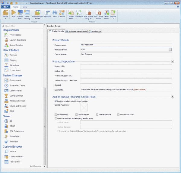 Advanced Installer : La création de package MSI/EXE facile