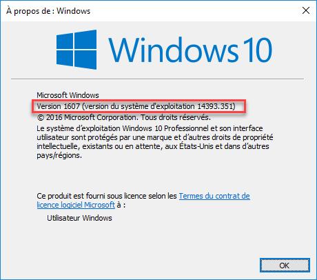 Utiliser Internet Explorer dans Windows 10
