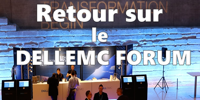 Photo of Retour sur le DellEMC Forum