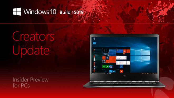 Photo of Windows Insider : La build 15019 disponible sur le Fast Ring via Windows Update