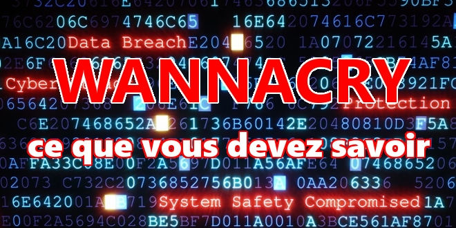 Photo of Ransomware : WannaCry