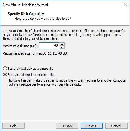 Installer OSX High Sierra sur PC avec VMware – Tech2Tech