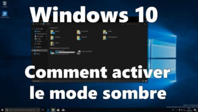 Photo de Windows 10 : Comment activer le mode sombre