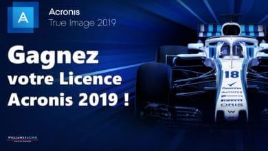 Photo of [Concours] Gagnez votre licence Acronis True Image 2019