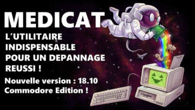 Photo de Medicat : L'utilitaire ultime pour le dépannage informatique passe en version 18.10 ! (Commodore Edition)