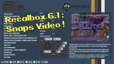 Photo of Recalbox 6.1 et les snaps vidéos pour très bientôt !