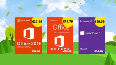 Photo of [Bons Plans] Licences Windows 10 à 10€ et Office 2016 à 28€ !