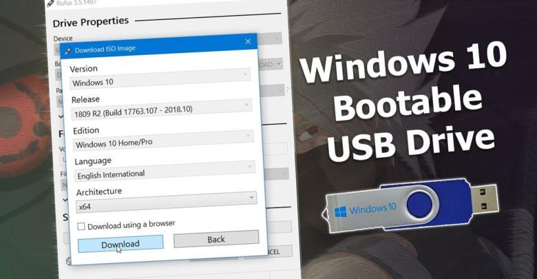 windows 10 usb download reddit