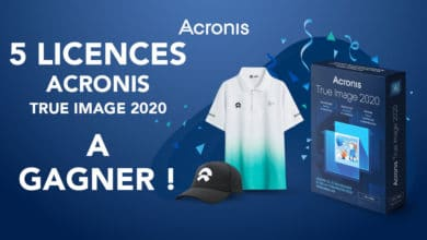 Photo of Gagnez votre licence Acronis True Image 2020 Premium et quelques goodies !