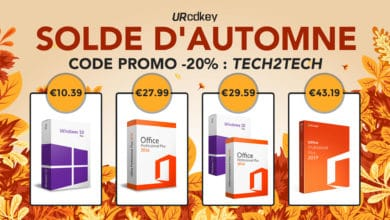 Photo of Solde d'Automne URcdkey : Windows 10 à 10€ / Office à 27€ et bien plus…