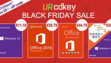 Photo of URcdkey Black Friday:Licence Windows 10 à seulement 11€ et Office 2016 Pro à 28€ !
