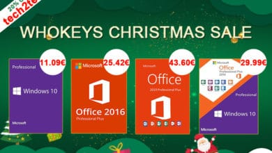Photo of Solde de Noël Whokeys : Windows 10 Pro à seulement 11€ et Office 2016 pour 25€