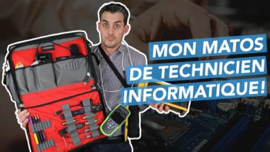 Photo de What's in my bag ? Mon matériel de technicien informatique itinérant