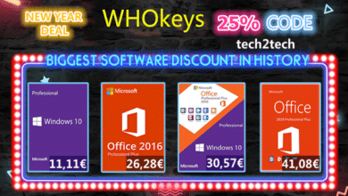 Photo of Licence Windows 10 Pro à 11€ sur Whokeys ! Et bien plus…