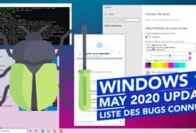 Photo of Windows 10 2004 : Liste des problèmes connus