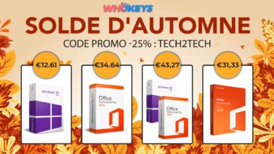 Photo de WhoKeys Promotion d'automne : Windows 10 Pro à 12€ et Office 2019 à 31€